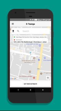 E-Taanga Cabs - E-Rickshaw, Auto screenshot 2
