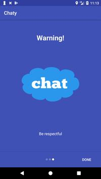 Chaty poster