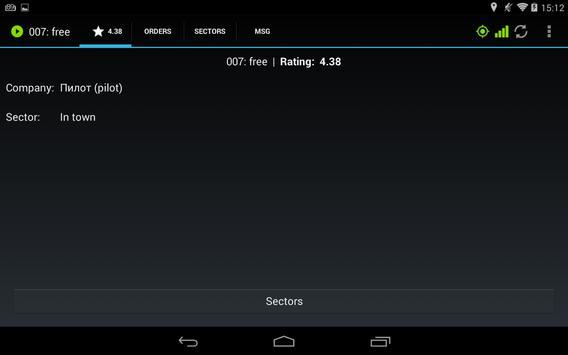 Etaximo Driver screenshot 2