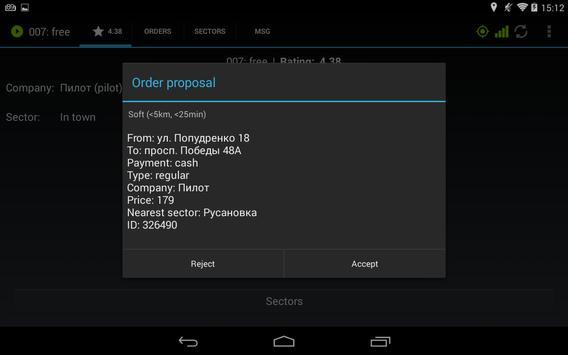 Etaximo Driver apk screenshot