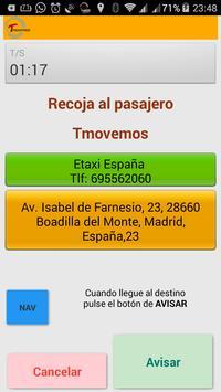 Tmovemos (Taxista) screenshot 3