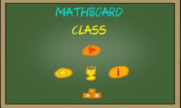 Mathboard Class poster