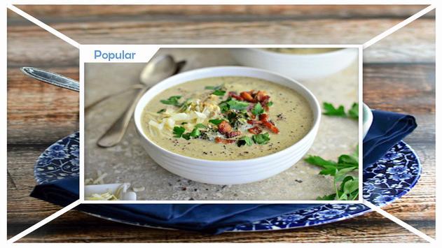 Healthy Cauliflower Soup Recipes screenshot 1
