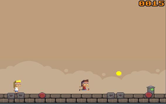 Retro Running Bros. apk screenshot