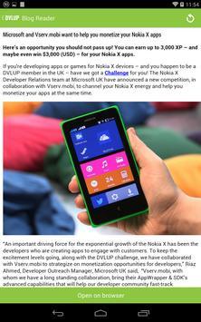 DVLUP Blog Reader apk screenshot