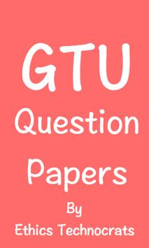 GTU Question Papers poster