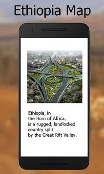 Ethiopia map screenshot 1