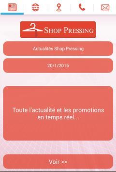 Shop Pressing poster