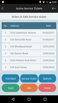 e-Service Ticket, Field-Mgt screenshot 1