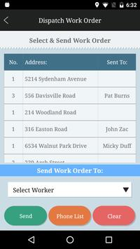 e-Service Ticket, Field-Mgt apk screenshot