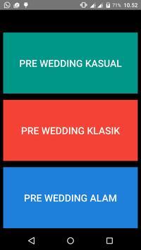 Konsep Foto Pre Wedding poster