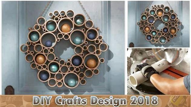 DIY Crafts Design 2018 poster
