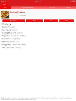 The Recipe Generator apk screenshot