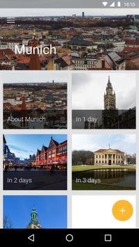 Munich Travel Guide poster