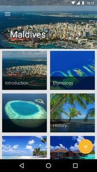 Maldives Travel Guide poster