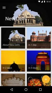 New Delhi Travel Guide poster