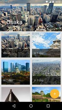 Osaka Travel Guide poster
