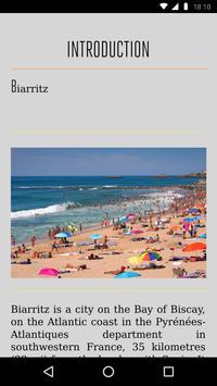 Biarritz Travel Guide apk screenshot