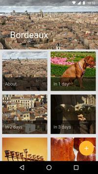 Bordeaux Travel Guide poster
