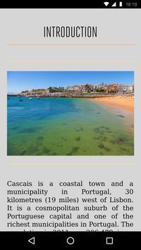 Cascais Travel Guide apk screenshot