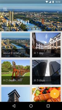 Frankfurt Travel Guide poster