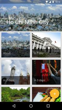 Ho Chi Minh City Travel Guide poster