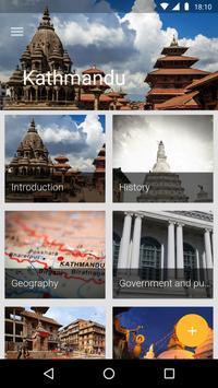 Kathmandu Travel Guide poster