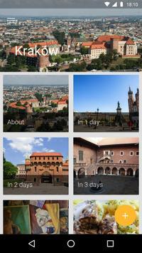 Krakow Travel Guide poster
