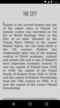 Krakow Travel Guide screenshot 2