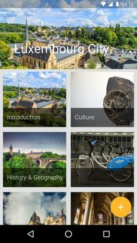 Luxembourg Travel Guide poster