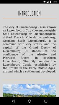 Luxembourg Travel Guide screenshot 2