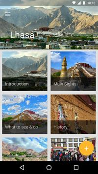 Lhasa Travel Guide poster