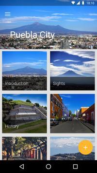 Puebla City Travel Guide poster