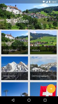 St. Gallen Travel Guide poster