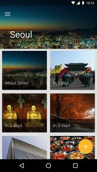 Seoul Travel Guide poster