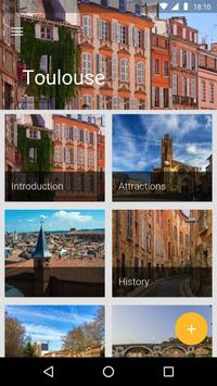 Toulouse Travel Guide poster