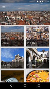 Valencia Travel Guide poster