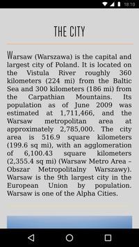 Warsaw Travel Guide apk screenshot