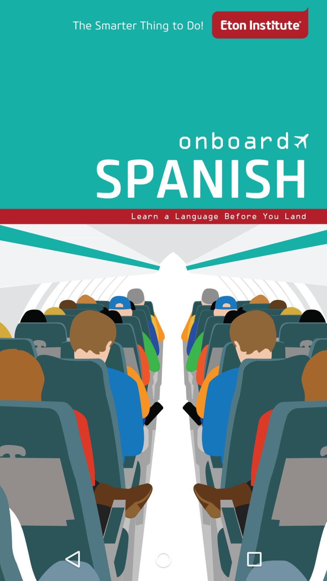 Onboard Spanish Phrasebook poster