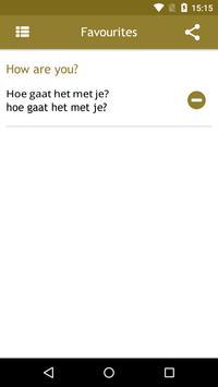 Dutch Phrasebook screenshot 4