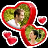 Love Collage icono