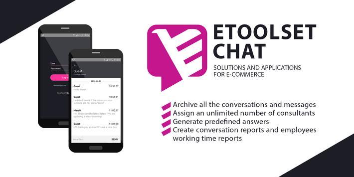 Etoolset Chat poster