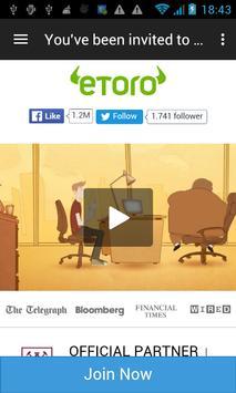 Etoro Start Trading poster