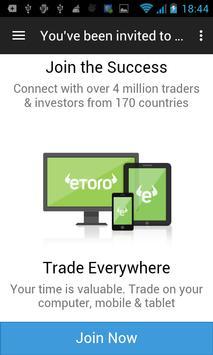 Etoro Start Trading apk screenshot