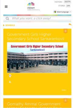 EtownSankarankovil apk screenshot