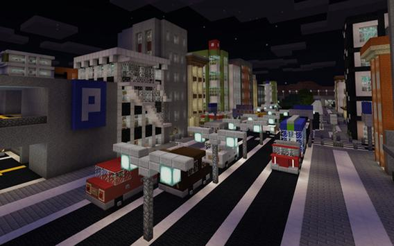 Map Footscray City Guide Area for MCPE screenshot 1