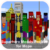 Superhero Mods Project MCPE icon