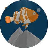jump in sea icon