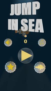 jump in sea poster