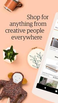 Etsy: Handmade & Vintage Goods poster